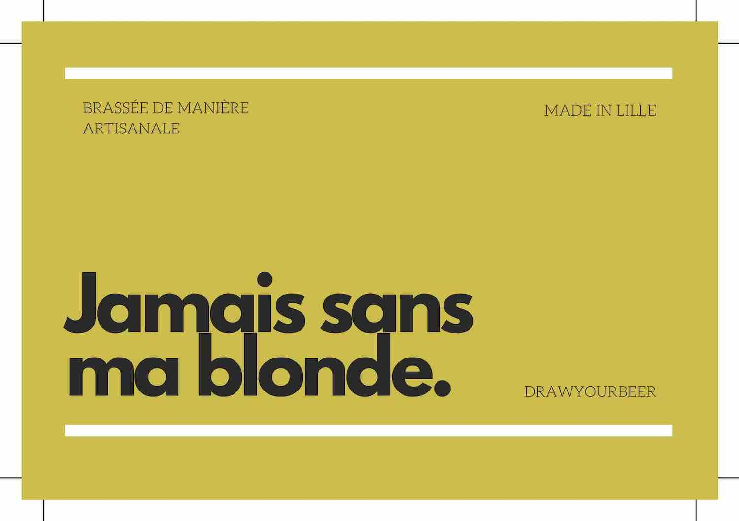 biere blonde biere brune copine humour
